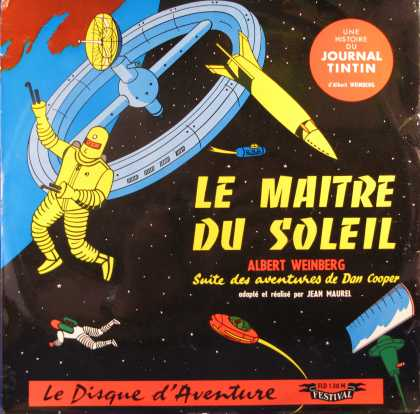 Oddest Album Covers - <<Tintin in space>>