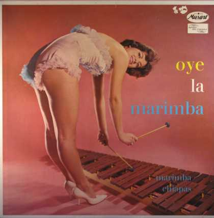 Oddest Album Covers - <<Hanging on the xylophone>>