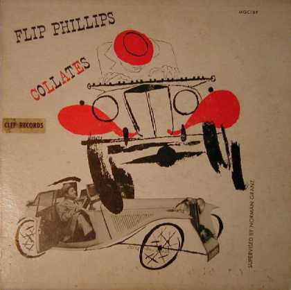 Oddest Album Covers - <<Driving Flip Phillips>>