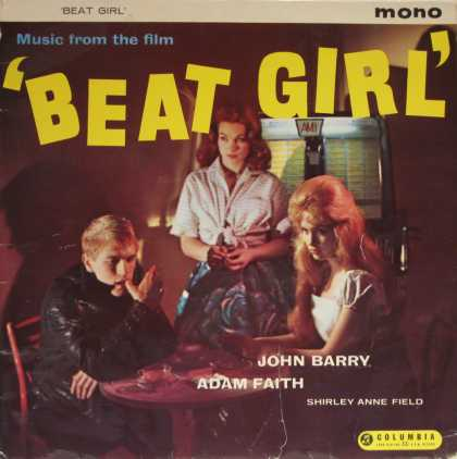 "Oddest Album Covers - <<""Beat Girl"">>"