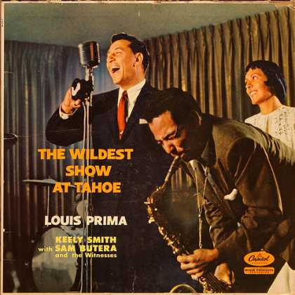 Oddest Album Covers - <<Louis Prima and Keely Smith>>