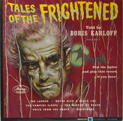 Oddest Album Covers - <<Tales of the Frightened>>