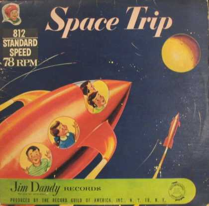 Oddest Album Covers - <<Space Trip>>
