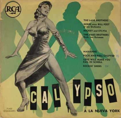Oddest Album Covers - <<Rock and roll Calypso>>