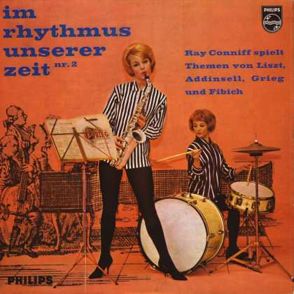 Oddest Album Covers - <<Rhythmus chicks>>