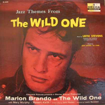 Oddest Album Covers - <<Marlon Brando The Wild One>>