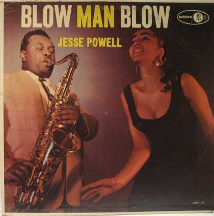 "Oddest Album Covers - <<Saxblaster Jesse ""Tex"" Powell>>"