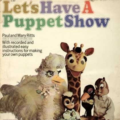 Oddest Album Covers - <<Puppet theatre>>