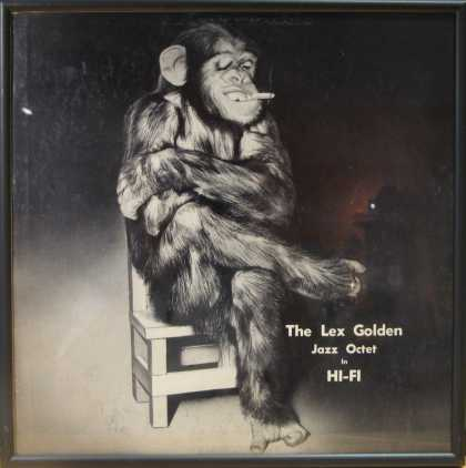 Oddest Album Covers - <<Monkey time off>>