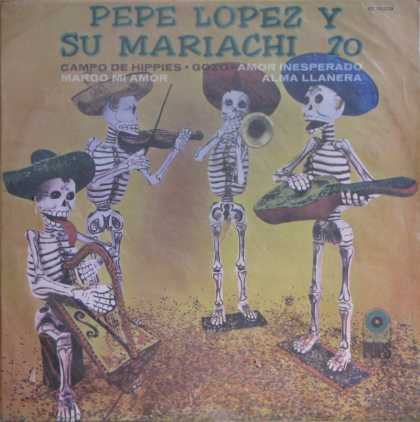 Oddest Album Covers - <<Skeletons of fun>>