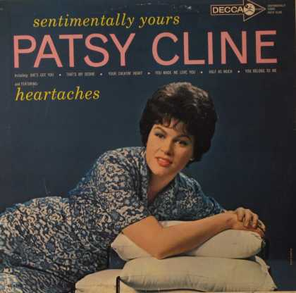 Oddest Album Covers - <<Patsy Cline on Decca>>