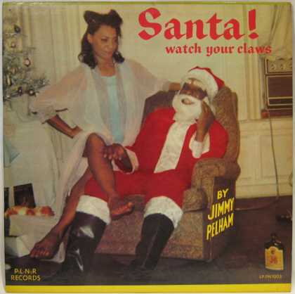 Oddest Album Covers - <<Santa Claus is a black man>>