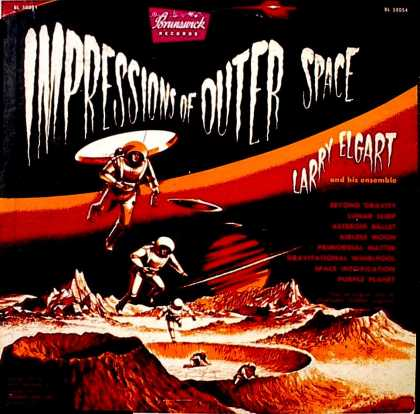 Oddest Album Covers - <<Impressions of Outer Space>>