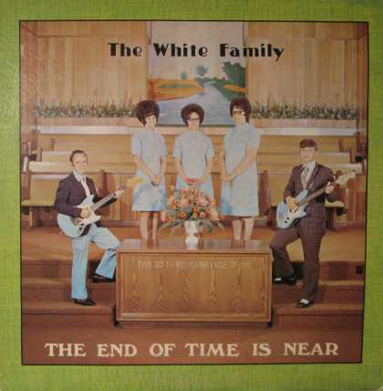 Oddest Album Covers - <<Dark thoughts from the White Family>>