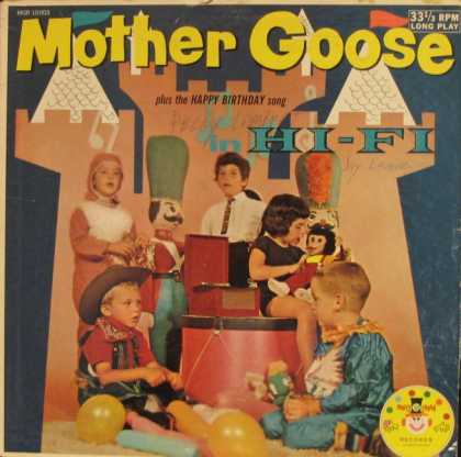 Oddest Album Covers - <<Mother Goose in Hi-Fi>>