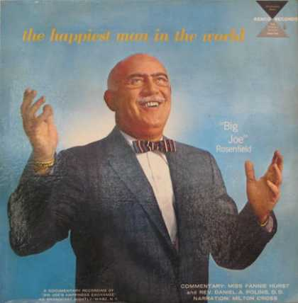 "Oddest Album Covers - <<""Big Joe"" Rosenfield finds his bliss>>"