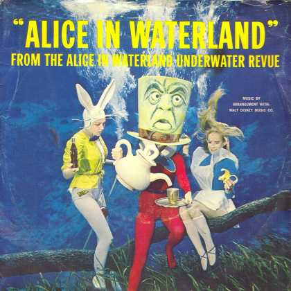 "Oddest Album Covers - <<""Alice in Waterland"">>"