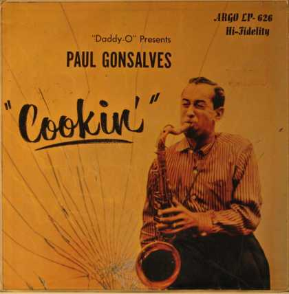 "Oddest Album Covers - <<Paul Gonsalves ""Cookin"">>"