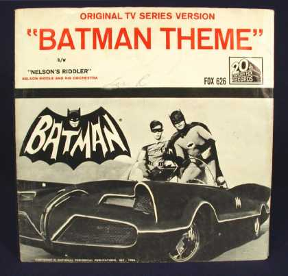 Oddest Album Covers - <<Batman and his wing man Robin>>
