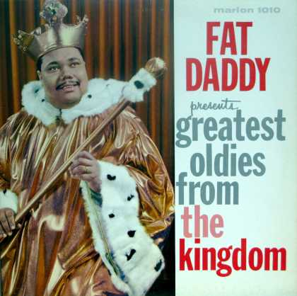 Oddest Album Covers - <<Fat poppa, show stoppa!>>