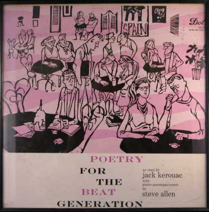 Oddest Album Covers - <<Poetry for the Beat Generation>>