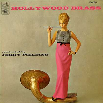 Oddest Album Covers - <<Hollywood Brass>>