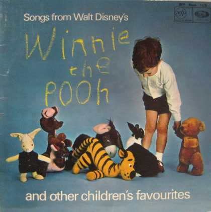 Oddest Album Covers - <<Pooh Bear>>