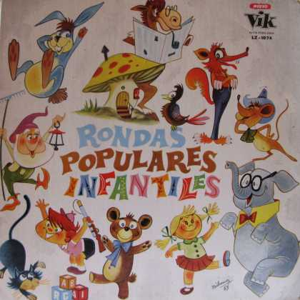 Oddest Album Covers - <<Popular kiddie cartoons>>