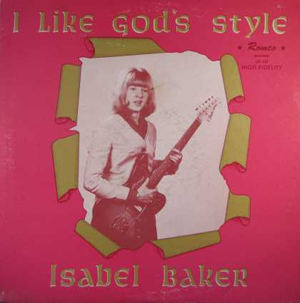 Oddest Album Covers - <<A xian girl and her electric guitar>>