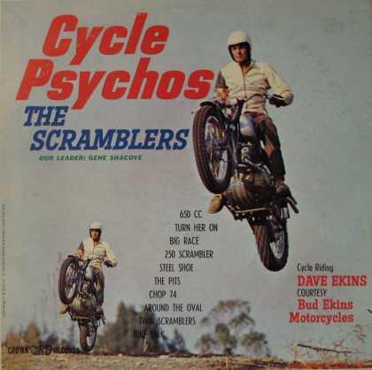 Oddest Album Covers - <<Psycho graphics>>