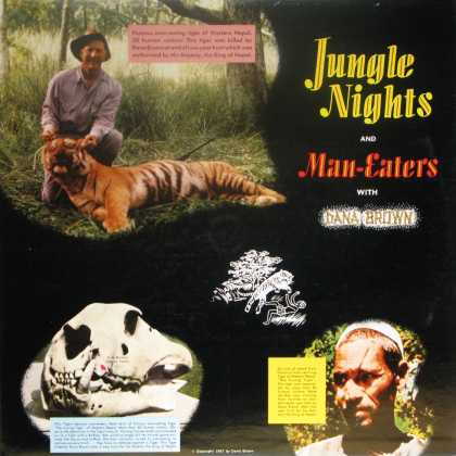 Oddest Album Covers - <<Jungle Nights and Man-Eaters>>