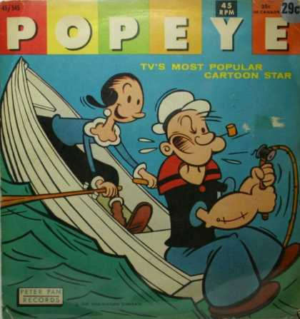 Oddest Album Covers - <<Olive Oyl and Popeye>>
