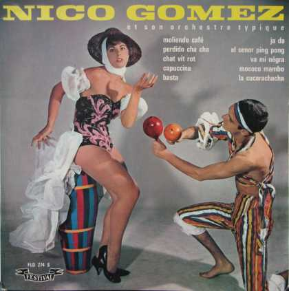 Oddest Album Covers - <<Cha cha to Gomez>>