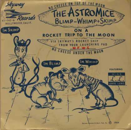 Oddest Album Covers - <<The Astro Mice!>>