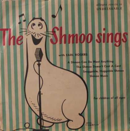 Oddest Album Covers - <<The Shmoo Sings>>