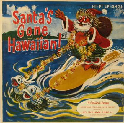 Oddest Album Covers - <<Surfin' Santa>>