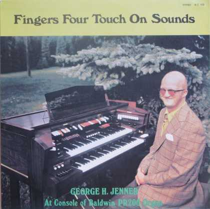 Oddest Album Covers - <<Blind and bald dude sits at the organ>>