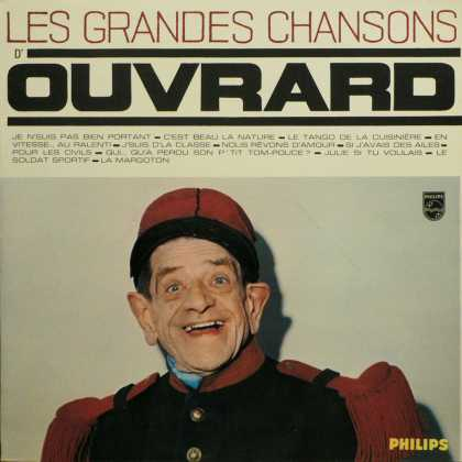 Oddest Album Covers - <<To hold up his hat>>