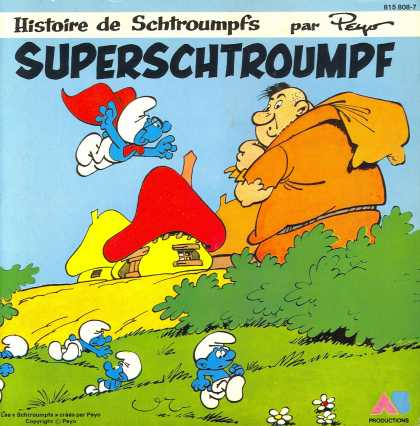Oddest Album Covers - <<Super Schtroumpf!>>