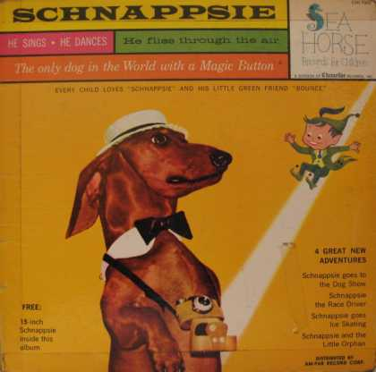 Oddest Album Covers - <<Trippin with Schnappsie (and his magic button)>>