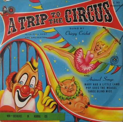 Oddest Album Covers - <<Big top hits>>