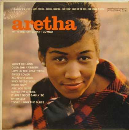 Oddest Album Covers - <<Aretha>>