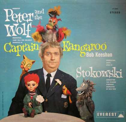 Oddest Album Covers - <<Capt. Kangaroo meets Stokowski>>