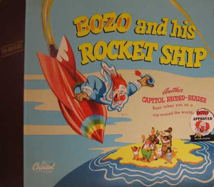 Oddest Album Covers - <<Bozo and his Rocket Ship 78>>