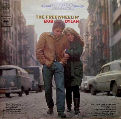 Oddest Album Covers - <<The Freewheelin' Bob Dylan>>