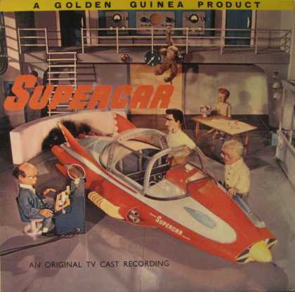 Oddest Album Covers - <<Supermarionation at its best>>