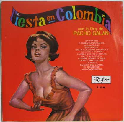 "Oddest Album Covers - <<""Fiesta en Colombia"">>"