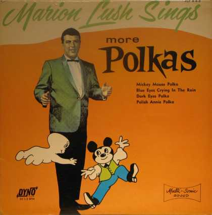 Oddest Album Covers - <<Polka toons>>