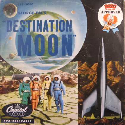 Oddest Album Covers - <<Destination Moon>>