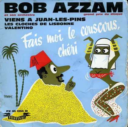 "Oddest Album Covers - <<""Fais moi le couscous cheri"">>"